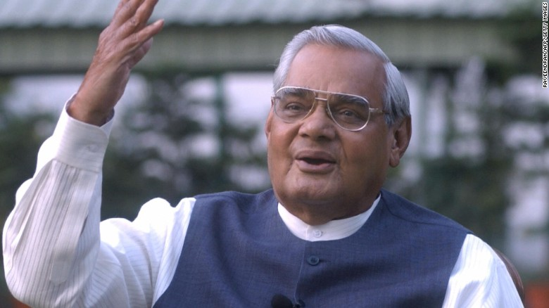 Atal Bihari Vajpayee Fast Facts