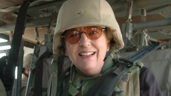 Sandra Mackey spent time with the Army