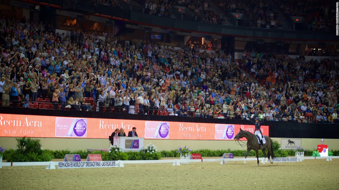 More than 10,000 fans were on their feet cheering their heroes at the 30th anniversary of the FEI World Cup Dressage Series.