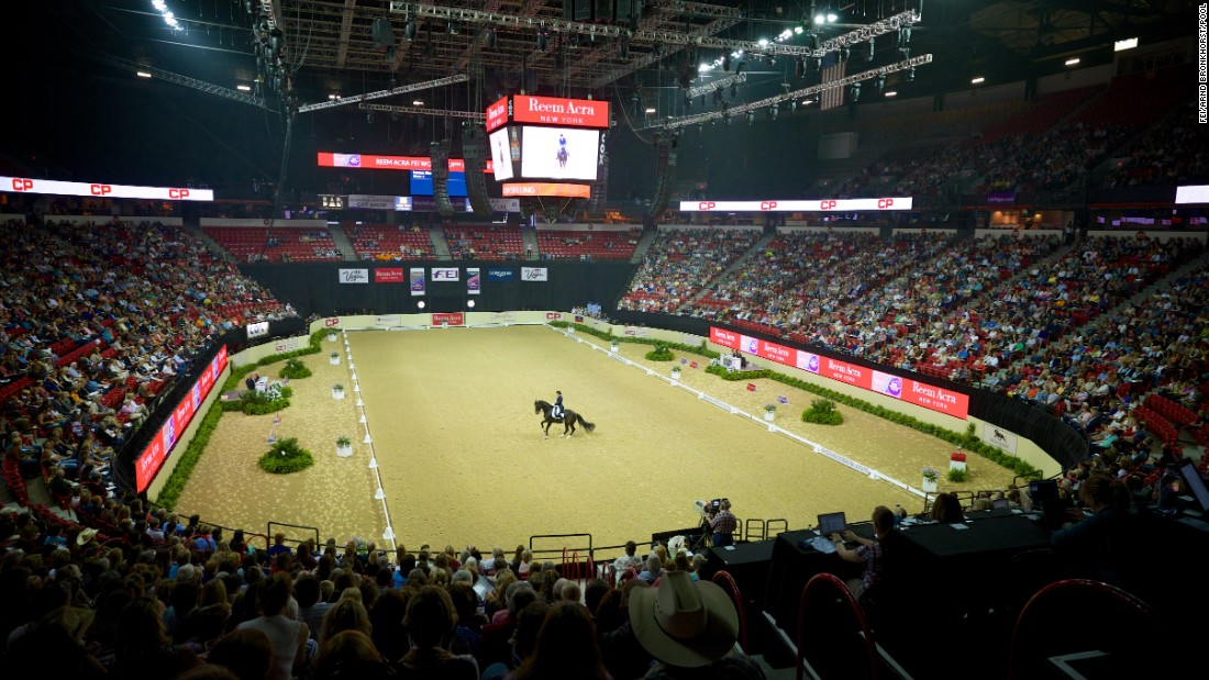 Over 74,000 spectators attended the finals at the Thomas & Mack arena -- a venue also known for hosting Monster Trucks, Supercross and Professional Bull Riding events.