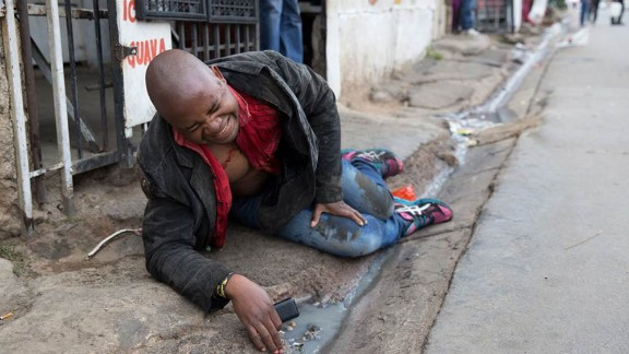 """I still remember (Sithole) looking straight into my eyes,"" Oatway said. ""He had a kind of a dazed, shocked look in his face."""