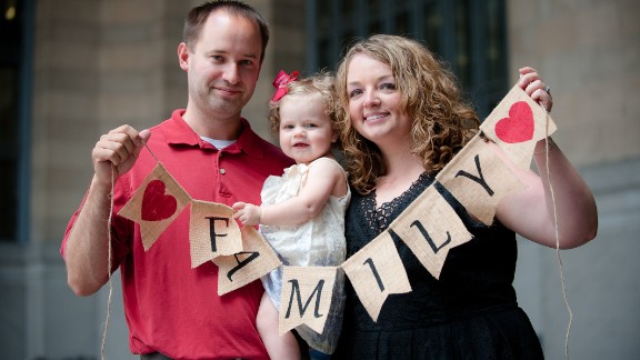 After painful infertility difficulties, Todd and Tiffany Ray adopted Kassidy in 2015.
