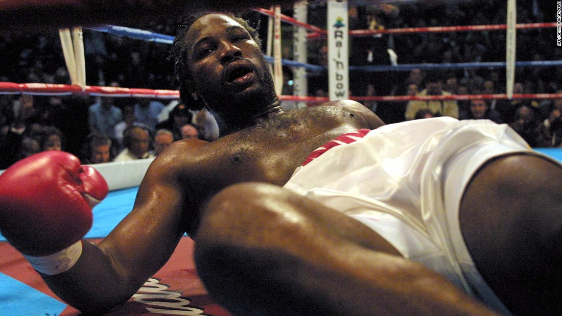 "Lennox Lewis went in to the fight as the undisputed heavyweight champion of the world, having defeated Frans Botha, David Tua and Michael Grant in a two-year period of heavyweight domination. Hasmin Rahman on the other hand had fought few boxers of note.<br /><br />Lewis compromised his build up, filming ""Ocean's Eleven"" in Las Vegas and arriving late to his South African training camp. On fight night it showed, the champ knocked out in the fifth round with a huge right hand from Rahman, who walked away with IBO, IBF and WBC heavyweight titles. <br />"