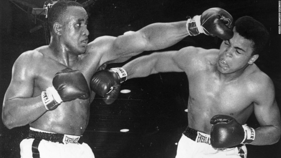Heavyweight champion Liston had a record of 35-1 and was a brutal physical presence in the ring, registering 15 knockouts in his previous 17 fights. Clay may have had an Olympic gold medal, but he was a fresh-faced 22-year-old and first-time challenger; a heavy 7-1 underdog going into the fight. <br /><br />On the night the champion could not handle Clay's pace and resorted to skullduggery, putting liniment on his glove and temporarily blinding Clay in the fourth round. The challenger rallied after the setback, retaking control of the fight and forcing Liston to bow out on his chair between the sixth and seventh rounds.