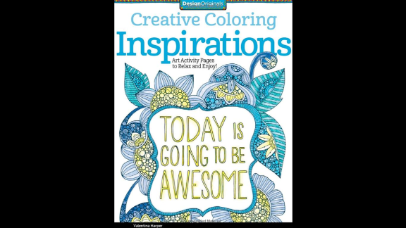 """""""Creative Coloring Inspirations: Art Activity Pages to Relax and Enjoy!"""" by Valentina Harper gives doodlers of all ages a chance to make the page sing with color."""