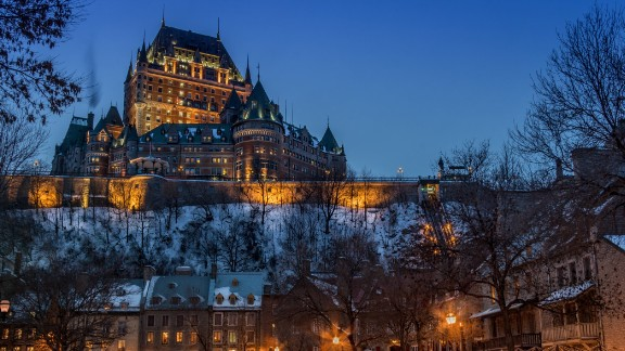 Canada is the fifth-happiest country in the world, and the historic city of Old Quebec must be one reason why. Founded in the early 17th century, it