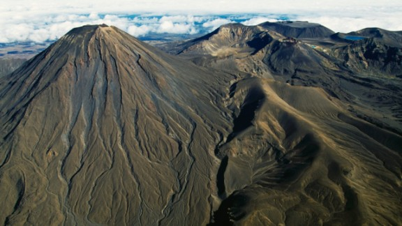 """New Zealand, where the famous """"Lord of the Rings"""" movie trilogy was fillmed, is the ninth happiest country in the world. Hardy hiking hobbit fans head to the 2,291-meter (7,516-foot)-high Mount Ngauruhoe, which doubled as Mount Doom in the movies."""