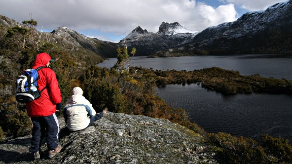 Australia, the 10th happiest country in the world, offers the stunning 65-kilometer (40-mile) Overland Track hike for those who want to explore the island state of Tasmania
