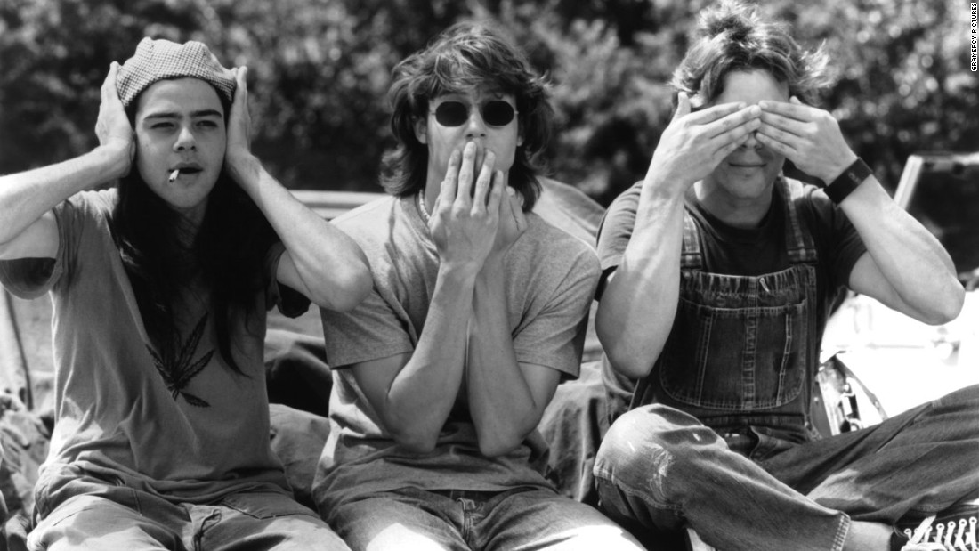 "The plot of ""Dazed and Confused"" involves a group of teenagers in Austin, Texas, having a wild time on their last day of high school.  <br />"