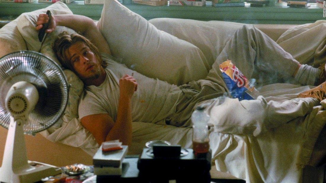 "In the 1993 movie ""True Romance,"" then 30-year-old actor Brad Pitt leaves an enduring impression as a cannabis user, Floyd, who can't seem to get off the couch."