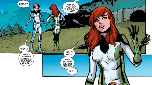 """The current storyline in """"All-New X-Men"""" has the characters traveling back in time, inhabiting younger bodies."""