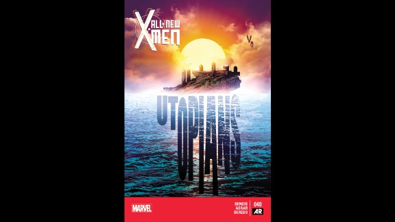 """Iceman's sexuality is revealed for the first time in """"All-New X-Men"""" No. 40."""