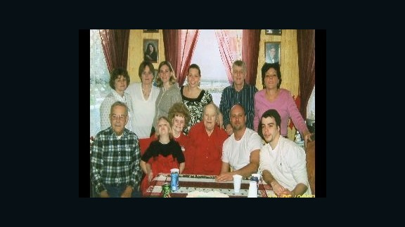 In this photo presented by prosecutors in the Boston Marathon bombing trial, victim Krystle Campbell is pictured with her family.
