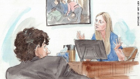 """I was terrified that I was going to die. I did not know that I could be that injured and survive,"" Boston Marathon bombing victim Gillian Reny testified in the sentencing phase of Dzhokhar Tsarnaev's trial."