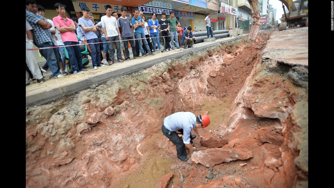 Dinosaur eggs found by construction workers in China - CNN