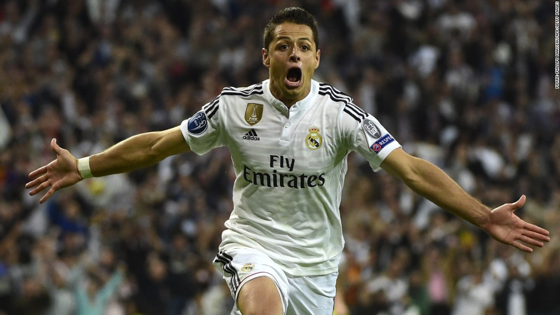 Ancelotti and Real recorded a much-needed win over local rival Atletico Madrid as Javier Hernandez scored the winner to send the club through to the Champions League semifinals.