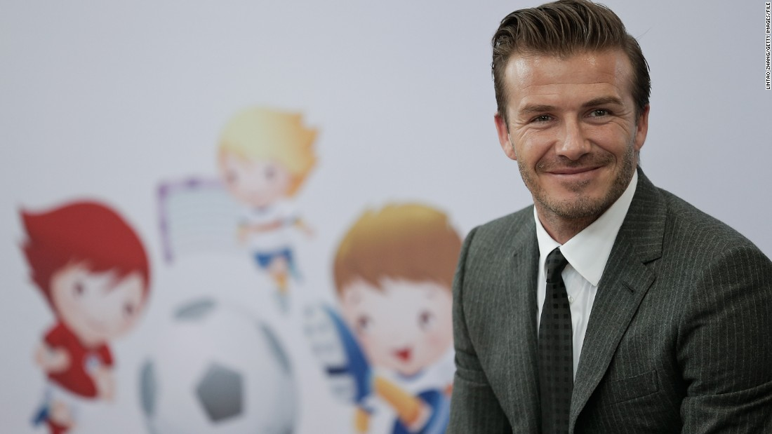 Beckham now promotes a niche single-grain whiskey and is the face of the Las Vegas Sands chain, which runs casinos in Singapore and Macau among its resort ventures.