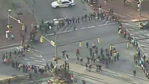 tsr live todd baltimore protesters block major intersection_00002919.jpg