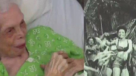 102 year old dancer sees herself on film for the first time Newday daily hit _00002505