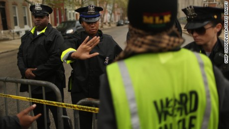 Police concerned outsiders will join Baltimore protests