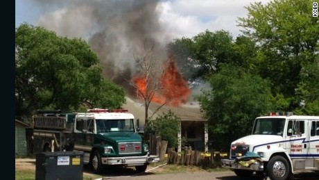 House full of ammunition, propane, fireworks destroyed in fire