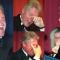 WHCD Bill Clinton laughs