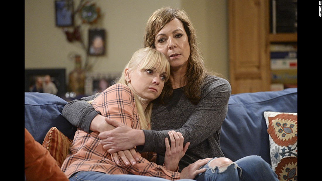 "<strong>Outstanding Supporting Actress in a Comedy Series:</strong> Allison Janney, right, ""Mom"""