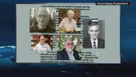 Dr. Oz accuses critics of conflict of interest_00005718.jpg