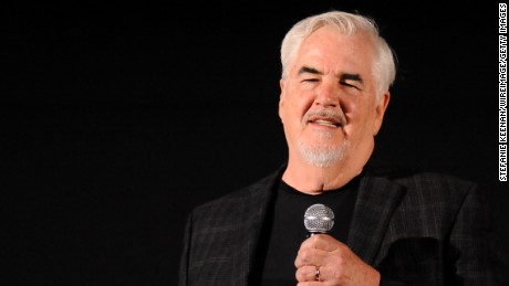 Movie critic Richard Corliss speaks at the 2014 TCM Classic Film Festival in Hollywood, California.