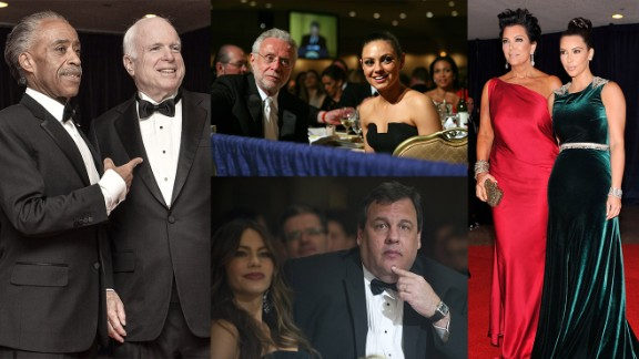 """The White House Correspondents' Association Dinner, also known as the """"Nerd Prom,"""" marks the time of year when the red carpet comes to Washington, when celebrities mingle with (or dodge) politicians, when Republicans and Democrats break bread -- not each other -- and when the President of the United States willingly (or reluctantly) attends his own roast."""