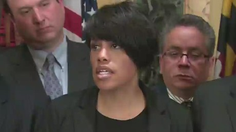 Baltimore mayor issues citywide mandatory curfew