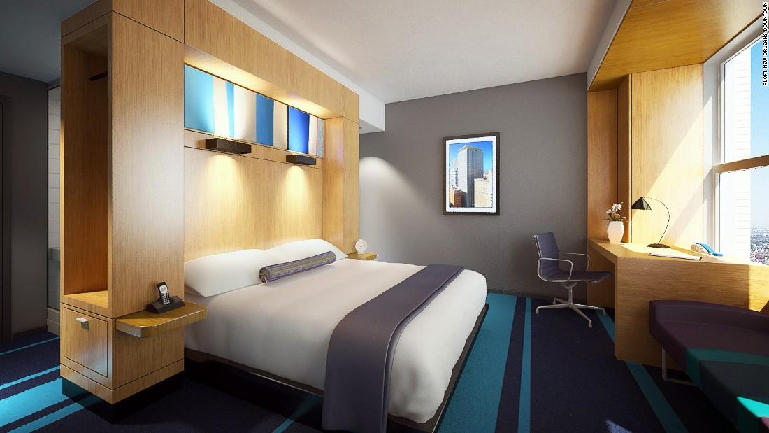 The city welcomes over 2,000 new hotel rooms opening in this year alone. This new 188-room hotel boasts of a rooftop pool and a lounge complete with pool table.