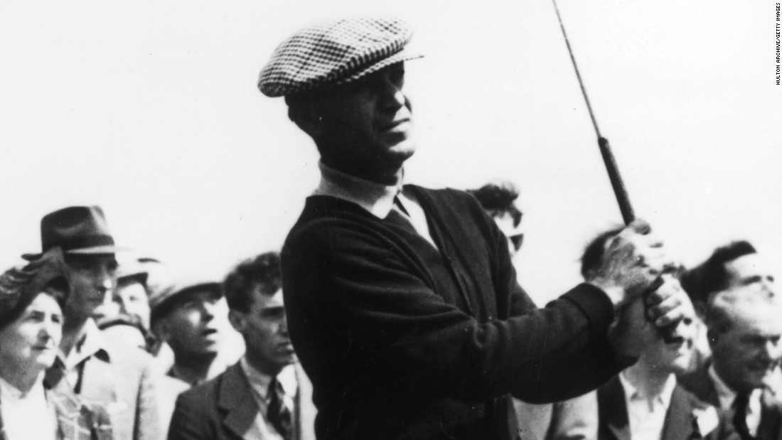 Not only did Hogan return, he won the U.S. Open in 1950, 16 months after his accident. With his creaking joints failing him he completed 36 grueling holes on the final day, hitting a famous one iron on the last to qualify for a playoff, which he duly won.
