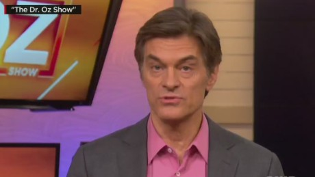 Dr. Ross: Dr. Oz is rendering unprofessional advice