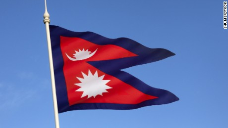 Nepal's flag is the only national flag that isn't rectangular or square.