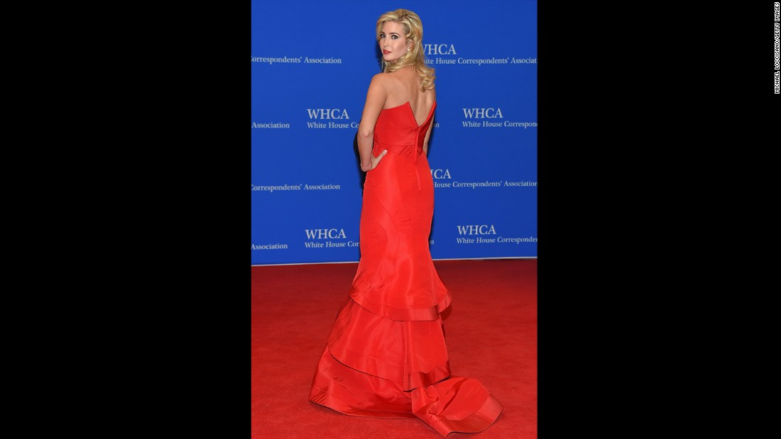 Ivanka Trump attends the 101st Annual White House Correspondents' Association Dinner at the Washington Hilton on April 25, 2015 in Washington, D.C.