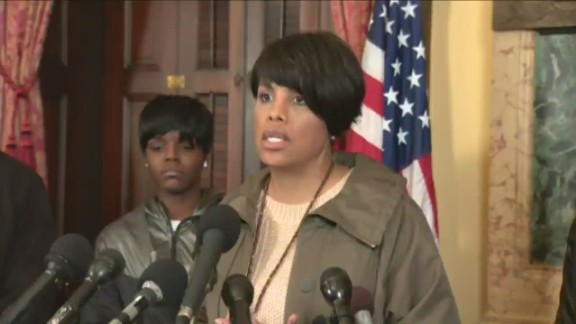 sot baltimore mayor rawlings blake protest comments_00003616.jpg