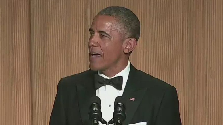 President jokes at White House Correspondents' Dinner