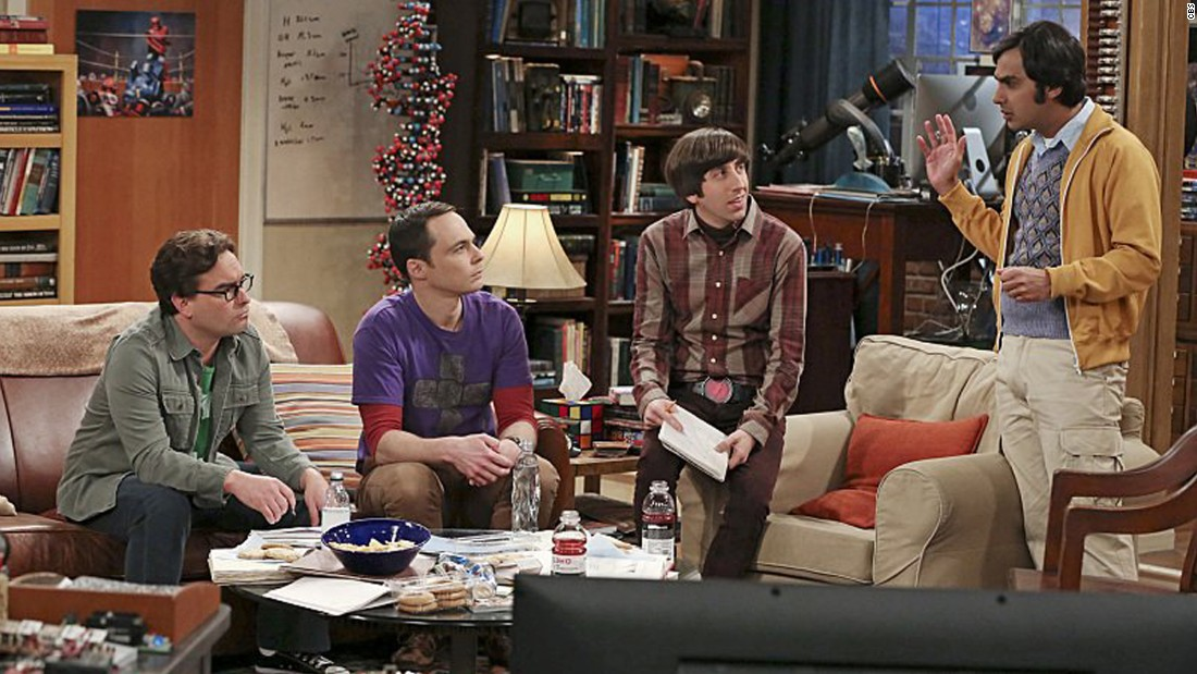 """The Big Bang Theory,"" Thursday 8 p.m. ET, CBS"