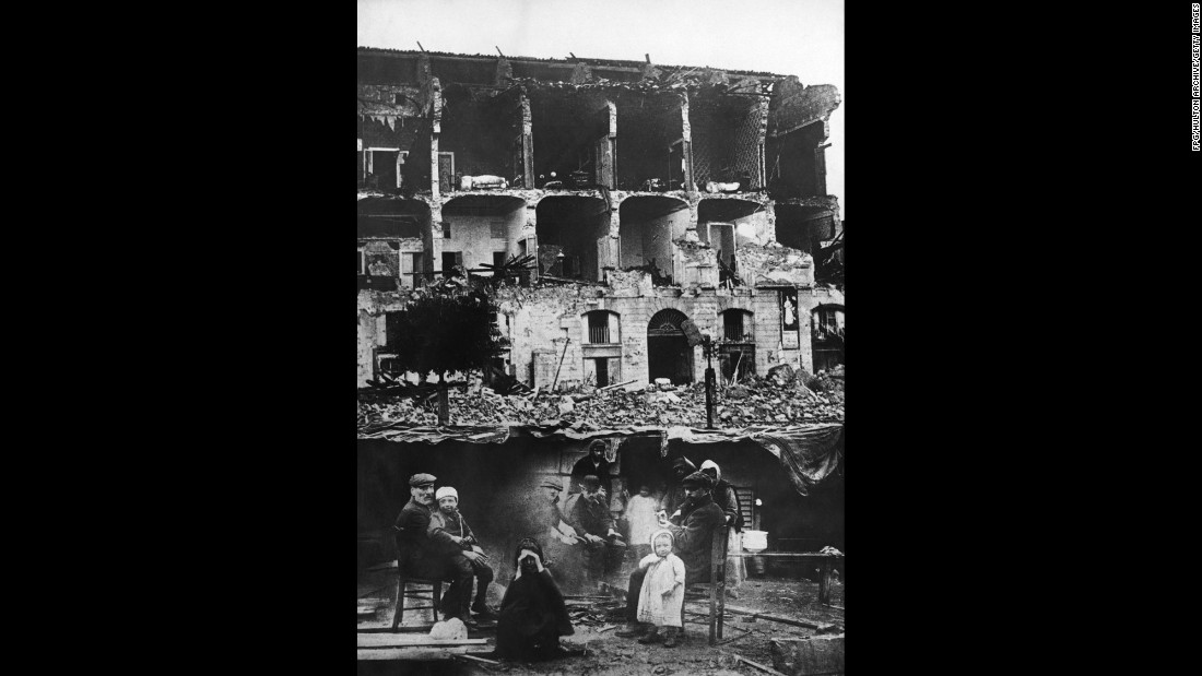 When 72,000 people were killed by a magnitude-7.2 earthquake in Messina, Italy, more than 40% of the city's population was killed. The December 28, 1908, quake caused a tsunami and was felt throughout Sicily.