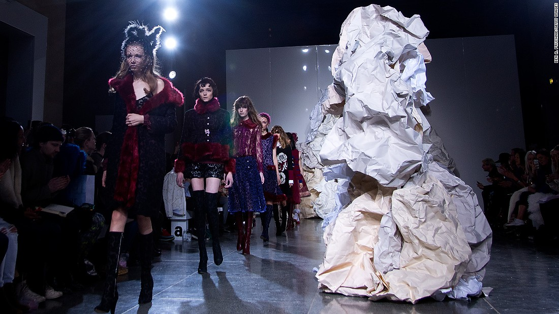 The great catwalk of China: 41 radical new designers - CNN Style