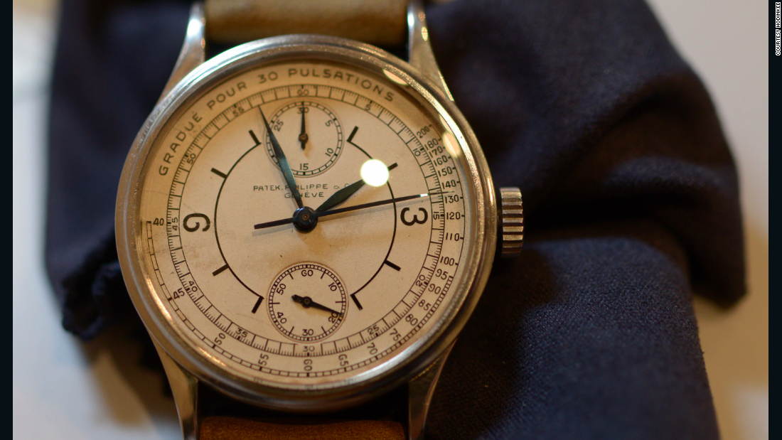 The other existing watch of this type sits inside the Patek Philippe museum in Geneva.