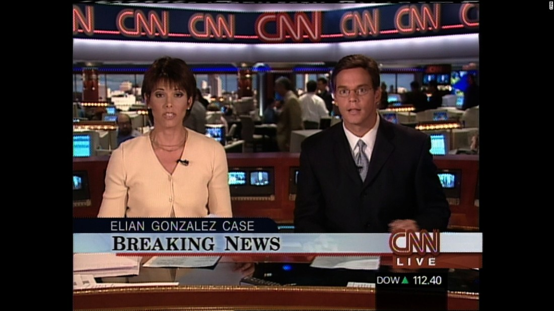 Anchors Daryn Kagan and Bill Hemmer report on the Elian Gonzalez case on June 1, 2000.