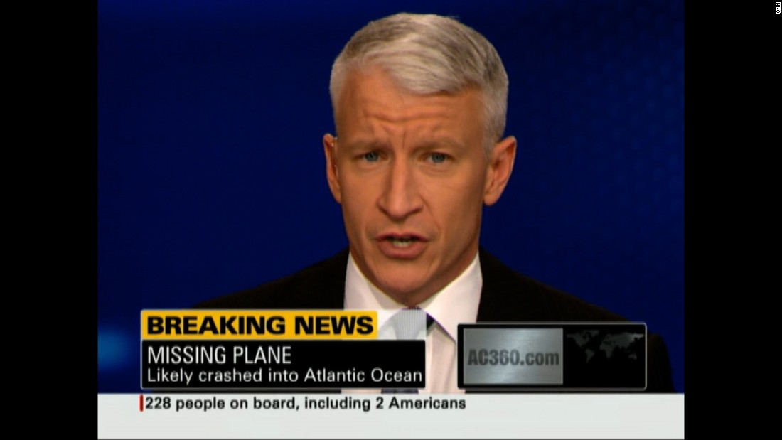 Anderson Cooper reports on Air France Flight 447, which crashed into the Atlantic Ocean in June 2009.
