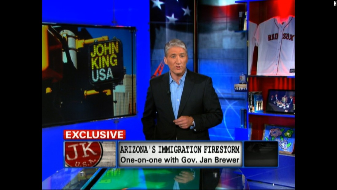 "John King hosts a 2010 episode of ""John King USA."" King is CNN's chief national correspondent and anchor of ""Inside Politics."" He's reported from every state and more than 70 countries."