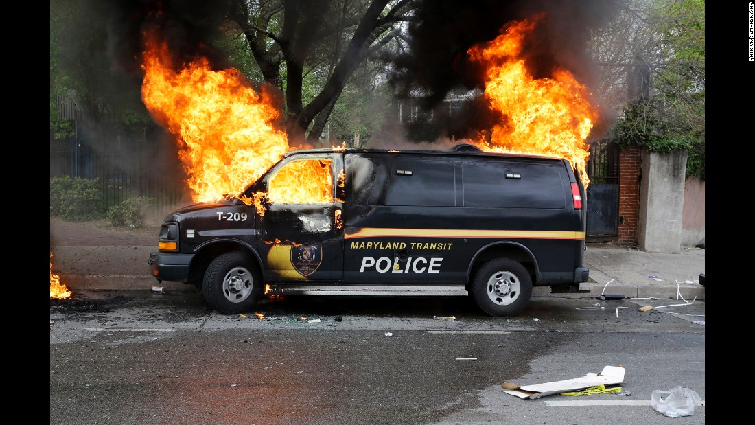 How We Burned Baltimore Opinion Cnn