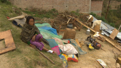 Nepal's villages devastated by quake