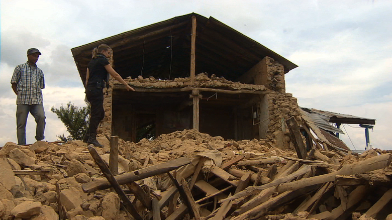 Remote Nepalese villages struggle to rebuild
