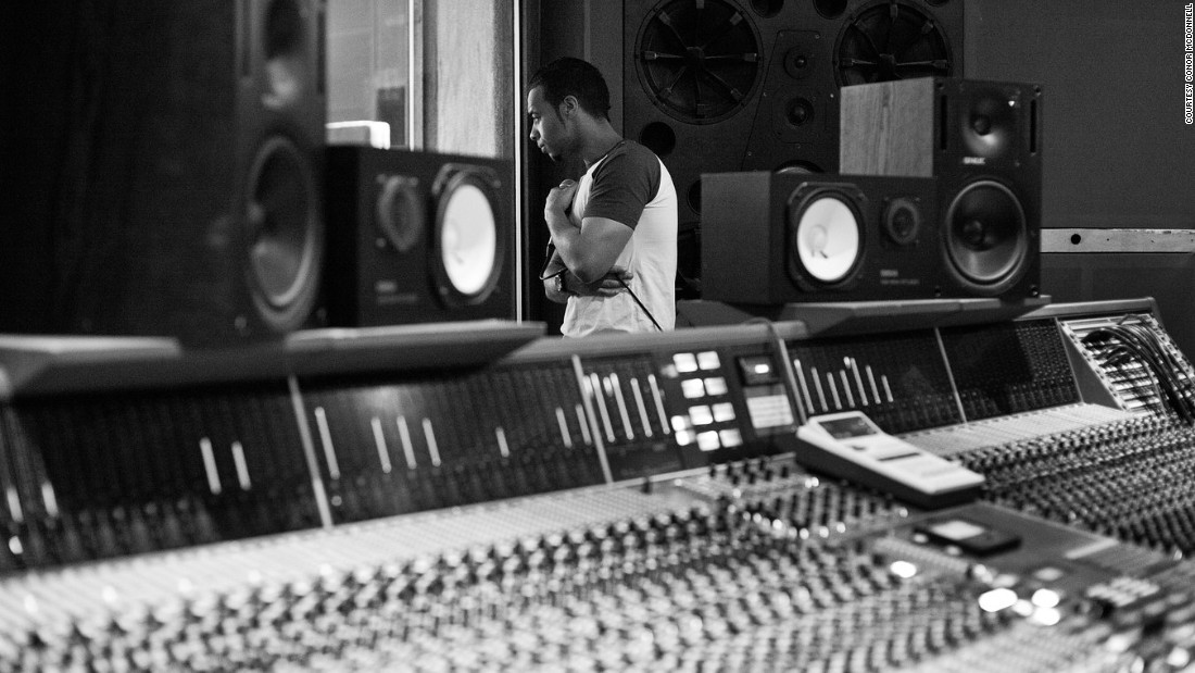 Soul songwriter and producer Esco Williams is tipped to be the next big thing. McDonnell captured him in the studio.