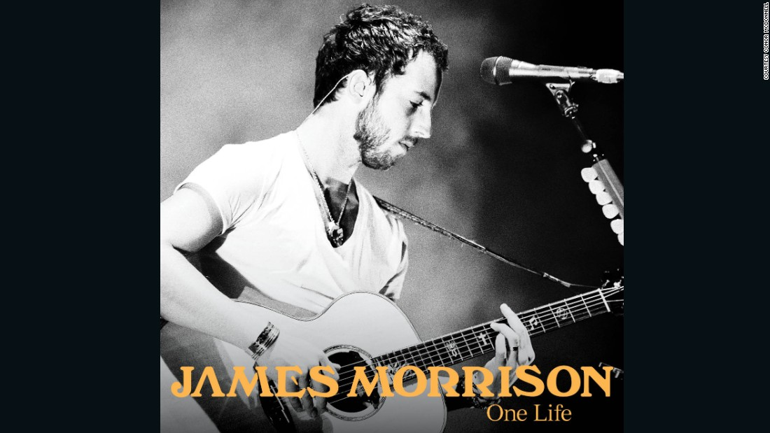 "Brit Award-winner James Morrison chose McDonnell's concert photo to grace the front of his 2011 single ""One Life"""